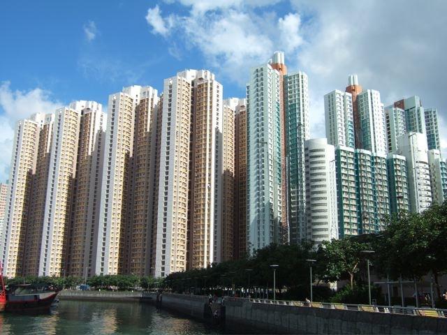 Hồng Kong nơi giá nhà đất đắt nhất thế giới