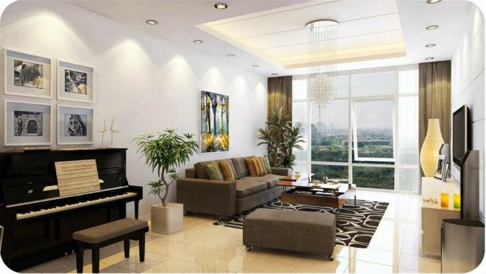 Trang trí nội thất phòng khách theo phong thuỷ đón tài lộc 5