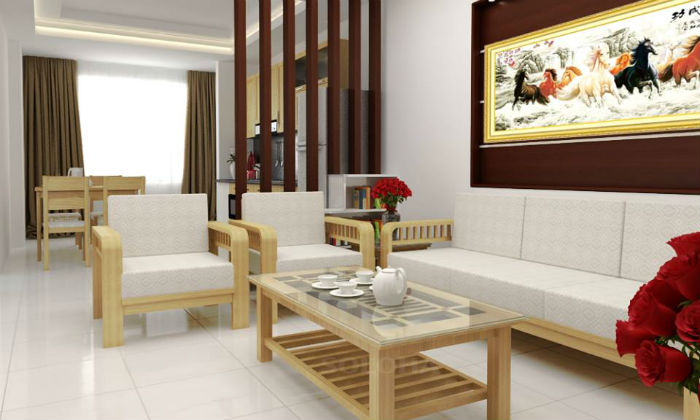 Trang trí nội thất phòng khách theo phong thuỷ đón tài lộc 2