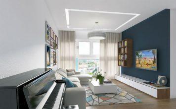 Trang trí nội thất phòng khách theo phong thuỷ đón tài lộc 1
