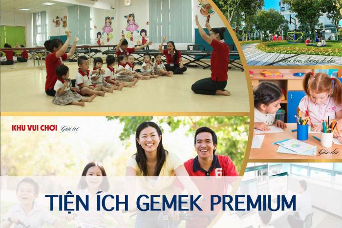 Tiện ích đồng bộ tại Gemek Premium