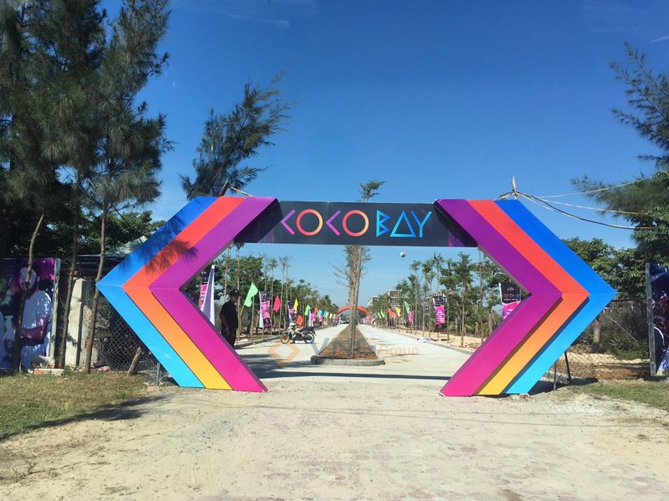 Hình ảnh thực tế dự án Cocobay