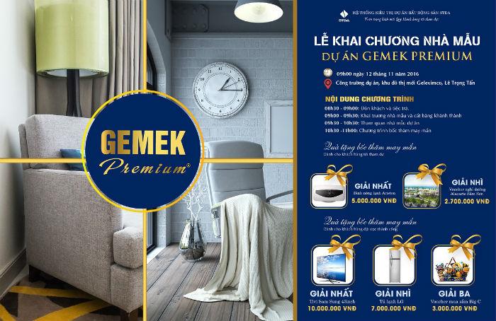 Nhà mẫu Chung cư Gemek Premium