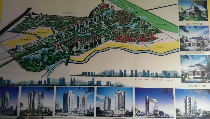Quy hoạch tổng thể Khu đô thị Thanh Hà Cienco 5