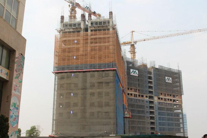 Tiến độ dự án chung cư Xuân Mai Complex Dương Nội