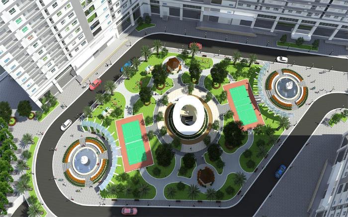 Tiện ích dự án chung cư Xuân Mai Complex