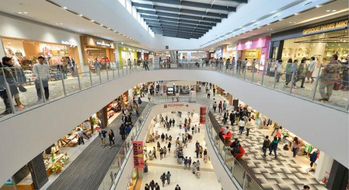 Trung tâm mua sắm tại chung cư Đồng Phát Park View